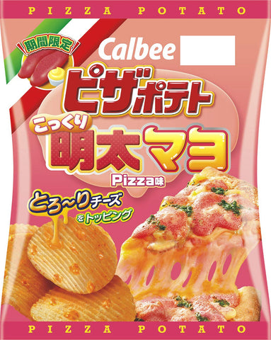Pizza Poteto Mentaiko Mayonnaise Flavor