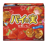 Lotte Pie No Mi Sweet Strawberry Chocolate