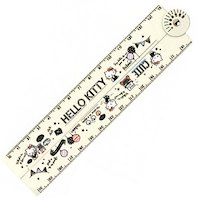 Sanrio Folding Ruler - Hello Kitty White