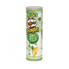 Pringles Winter Edition: Sour Cream and Onion