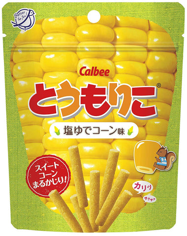 Calbee - Teru Moriko Salt and corn flavor