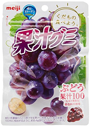 Meiji Kajyu Grape Gummies
