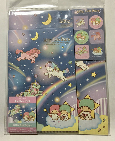 Sanrio Little Twin Stars Letter Set