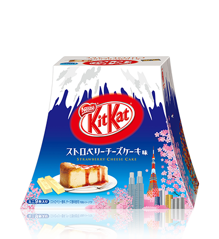 Kit Kat Strawberry Cheese Cake Flavor