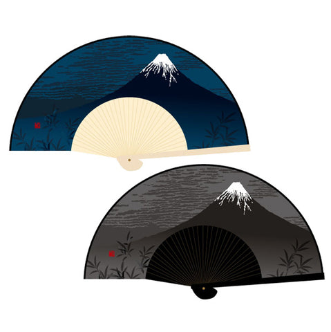 Mt. Fuji Fan - Brown