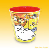 Neko Atsume Melanine Cup - Yellow
