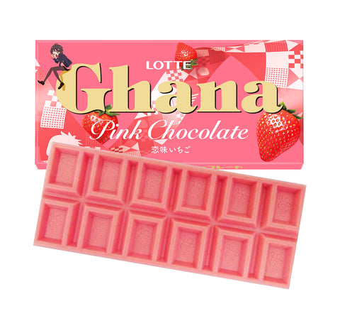 Ghana Chocolate Lovely Strawberry Flavor
