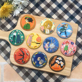 Howl's Moving Castle: Embroidery Broaches Myster Pack