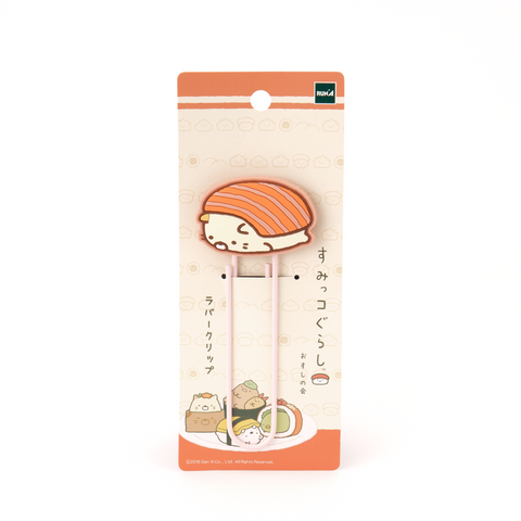 Sumikko Gurashi Large Rubber Clip -Cat Salmon-
