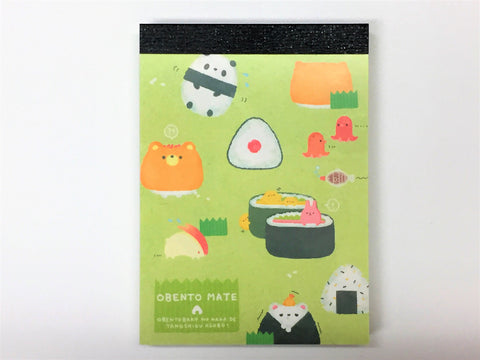 Obento Mate Kawaii Mini-notepad