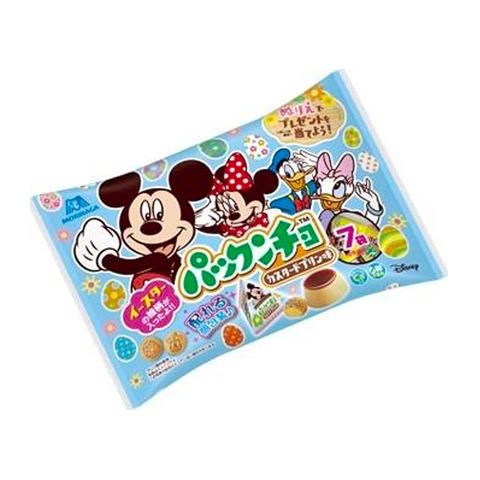 Pakkuncho Disney Custard Pudding Biscuits