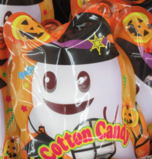 Halloween Cotton Candy