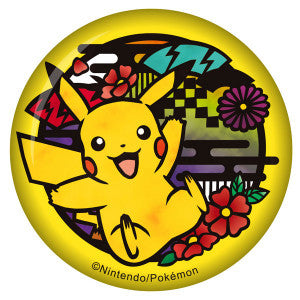 Pokemon Metal Badge - Pikachu