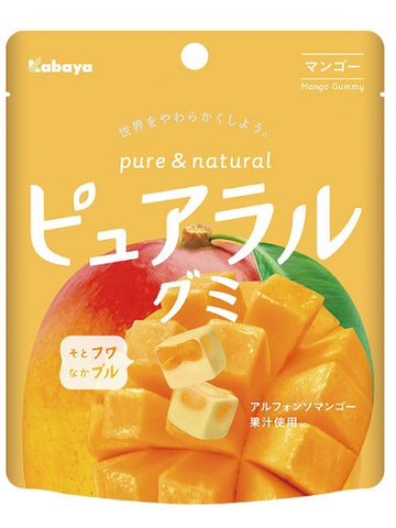Kabaya Pure and Natural Gummy Mango