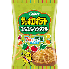Calbee Sapporo Potato Pebbly Vegetable