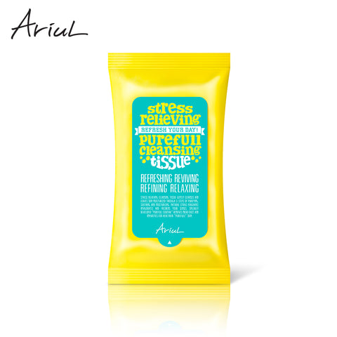 Ariul Stress Relieving Purefull Cleansing wipes (15PCS)