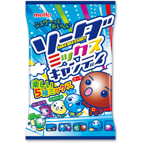 Meito Soda Mix Candy