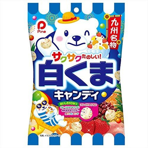 White Bear Fruity Candies