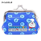 Doraemon x Hello Kitty  Coin Purse Time Furoshiki