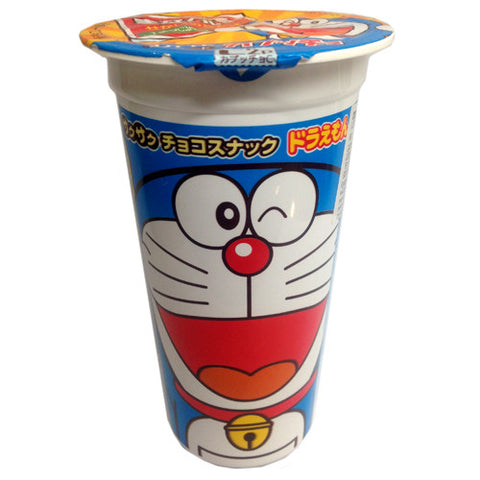 Lotte Doraemon Chocolate Capuccho Ball