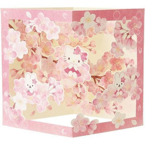 Sanrio Hello Kitty Japanese Style Card