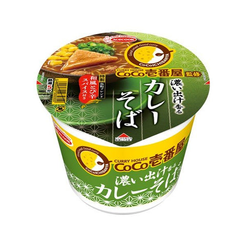 CoCo Instant Rich Curry Soba