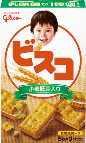 Glico Bisco With Wheat Germ