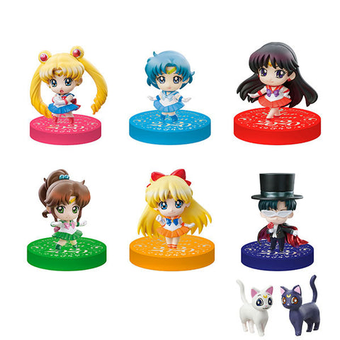 Sailor Moon Petit Chara Series - Mini Figures