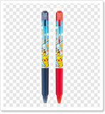 Pilot Frixion Ballpoint Pen Set (Blue, Black & Red)
