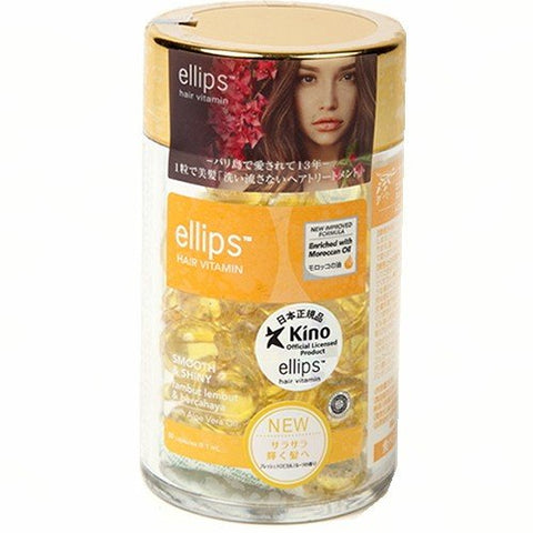 Ellips Hair Treatment Tropical Scented Oil Capsules (Bottle)