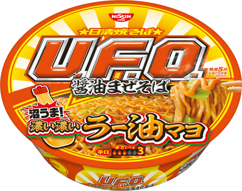 U.F.O. Yakisoba Soy Sauce and Chili Oil Mayo Flavor