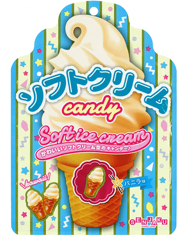 Senjakuame Soft Cream Candy