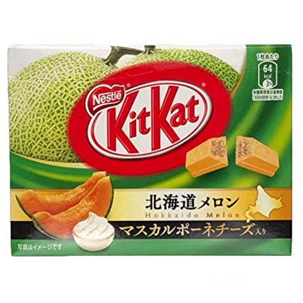 Hokkaido Melon and Mascarpone Cheese Kit Kat