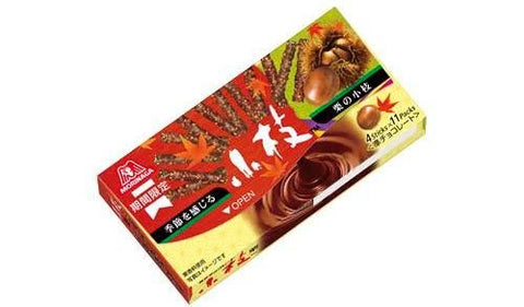 Morinaga Chocolate Twigs With Chestnut