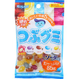 Kasugai Tsubu Gummies - Assorted Japanese Soda Flavors