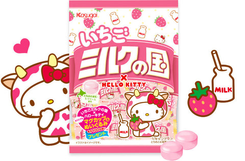 Strawberry Milk Land x Hello Kitty