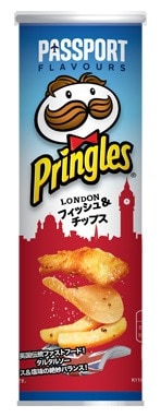 Pringles - Fish and Chips London Edition
