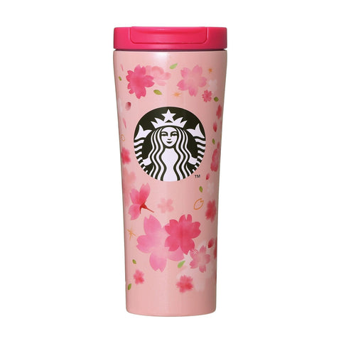 Starbucks sakura stainless steel tumbler breeze pink 355ml