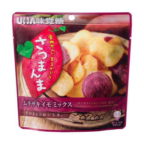 Satsumanma Sweet Potato & Apple Chips