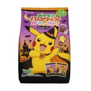 Pokemon Halloween Chocolates 5 piece set