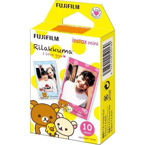 Cheki Films for Instax Mini8 Rilakkuma (10 pcs)