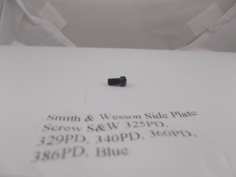 293770000 Smith & Wesson New J Frame Model 325PD - 386PD Blue Side Plate Screw
