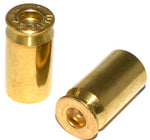 CH12099 Chromed Hog .45 Cal Bullet Valve Stem Caps - Brass - Set of 2