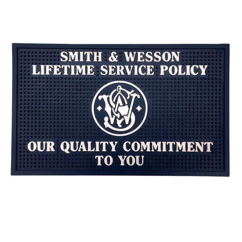 183060000 Smith & Wesson Lifetime Service Policy Counter Mat