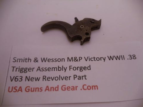 V63 Smith & Wesson New M&P Victory WWII .38 Forged Trigger Assembly -                                USA Guns And Gear-Your Favorite Gun Parts Store