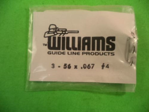WU1773 Williams #4 3.56 x .067 sight