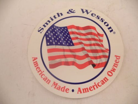 360000704 Smith & Wesson American Made/American Owned Decal Stickers
