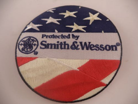 360000710 Smith & Wesson Military & Police 'Protected by Smith & Wesson' Round Patch