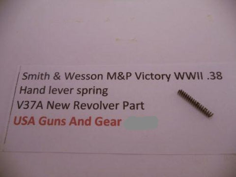 V37A Smith & Wesson New M&P Victory WWII .38  hand lever spring -                                USA Guns And Gear-Your Favorite Gun Parts Store