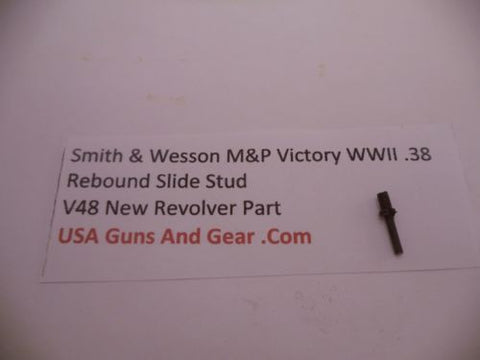 V38 Smith & Wesson New M&P Victory WWII .38 Caliber Rebound Slide Stud